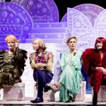 Christina Rubruck (Claudia), Andreas Uhse (Cedric), Dorothea Arnold (Livia), Nicole Averkamp (Cilly); Foto Annemone Taake